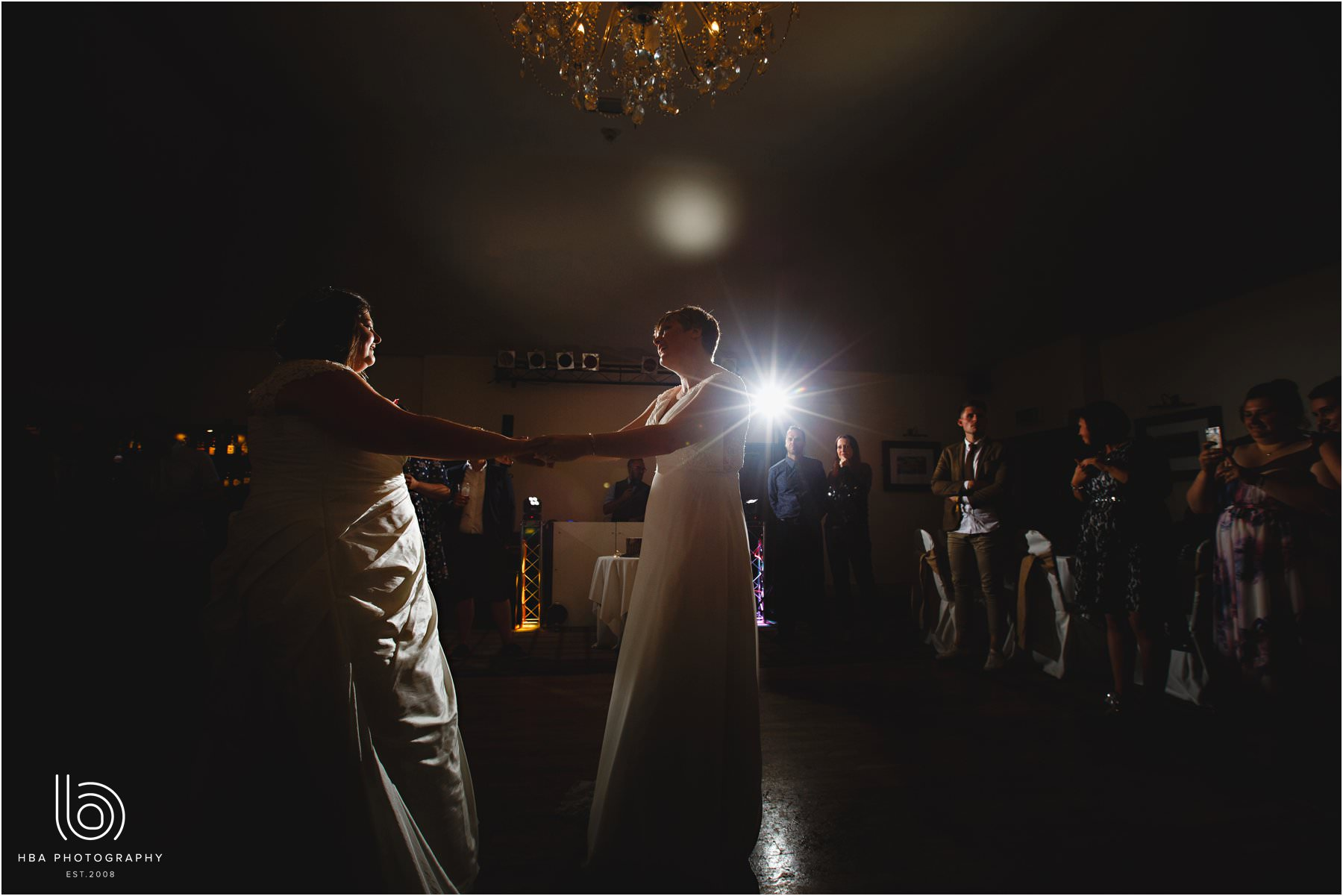 the two brides first dance