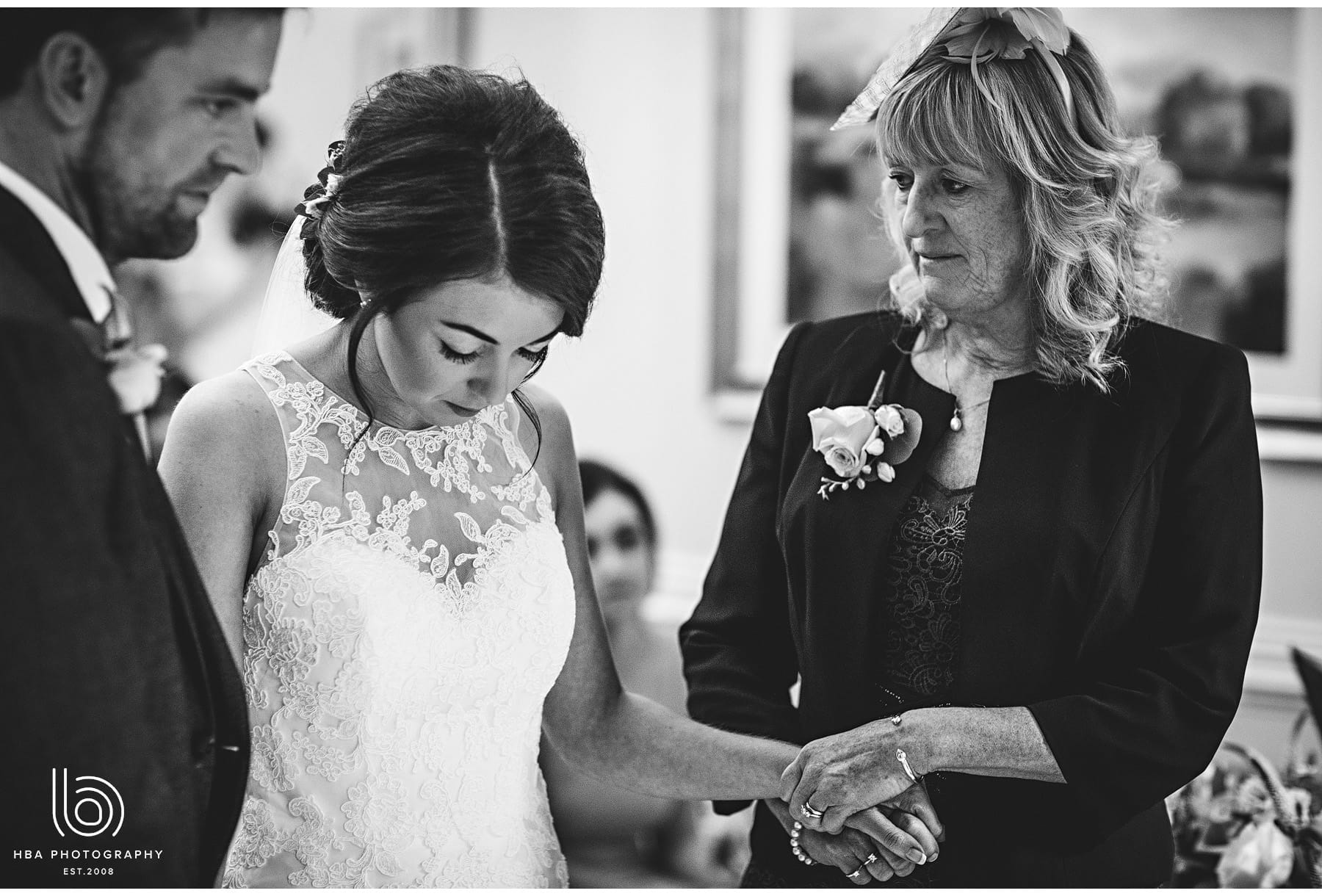 the bride and her mum