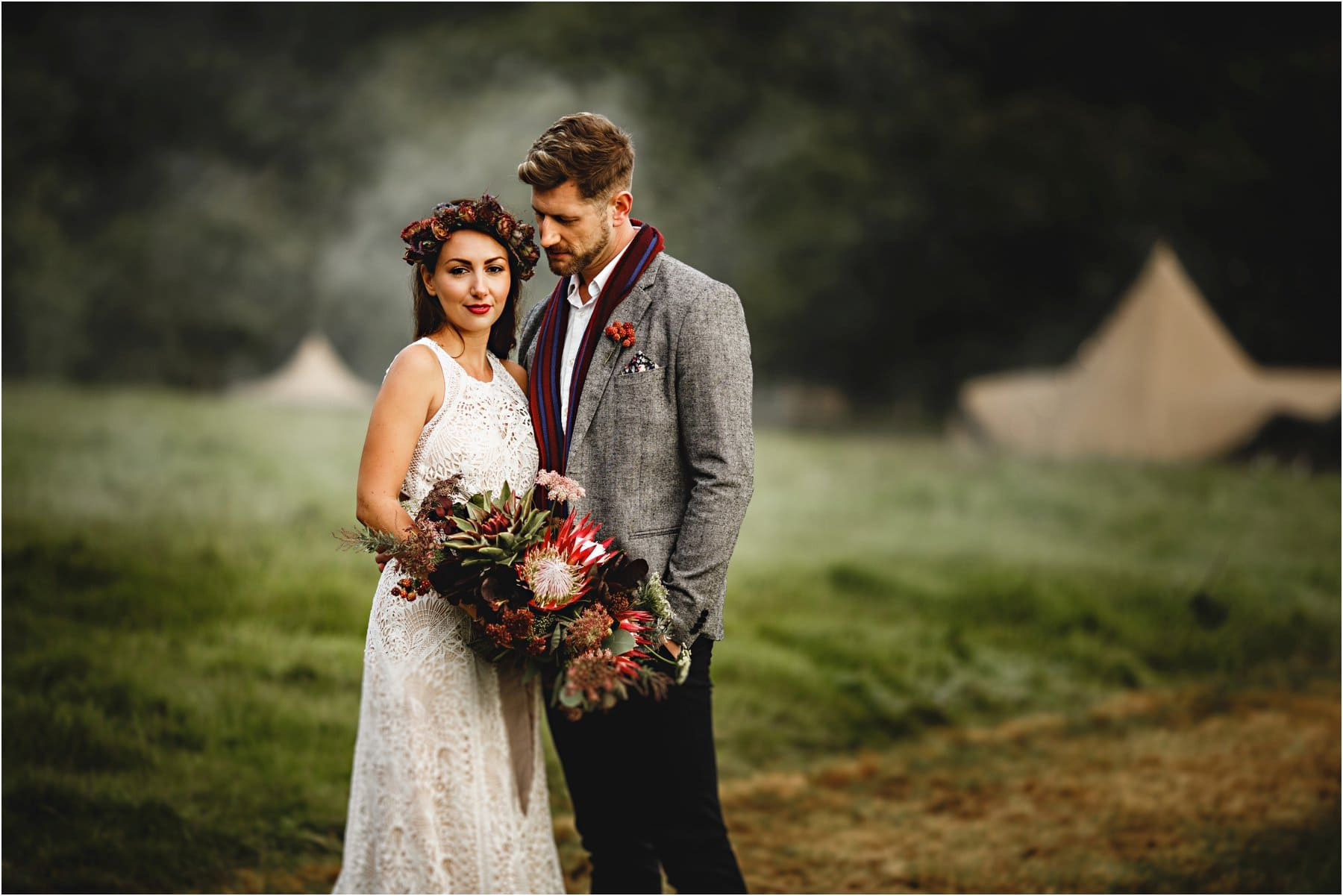 A tipi wedding