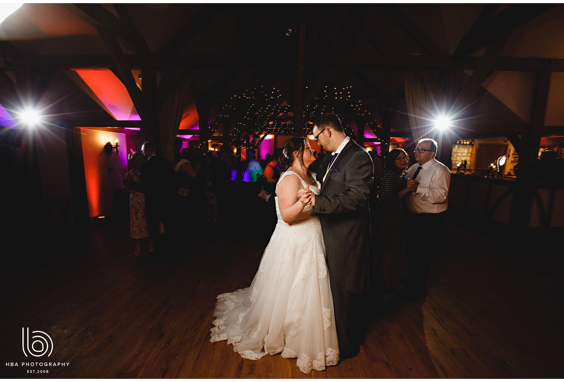 the bride & groom's dance