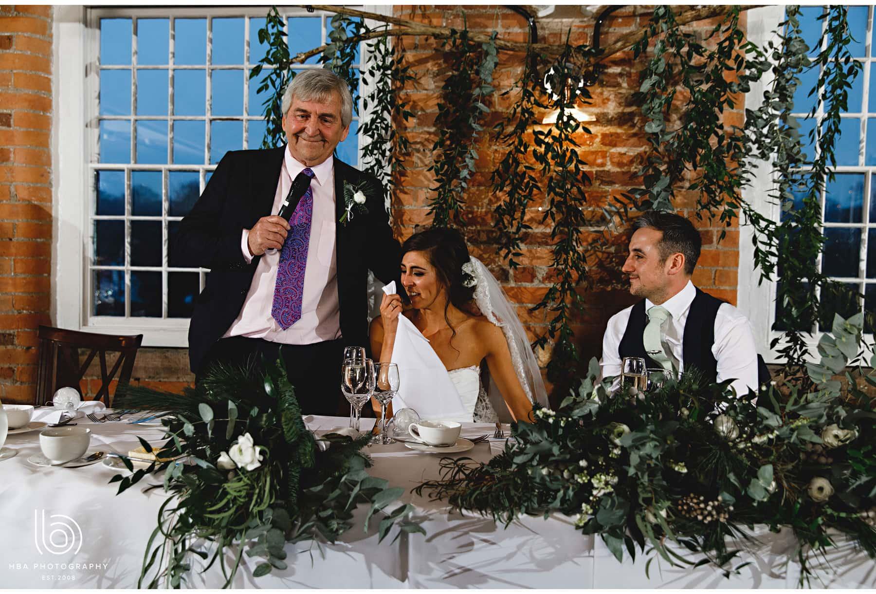 the bride's dad speech