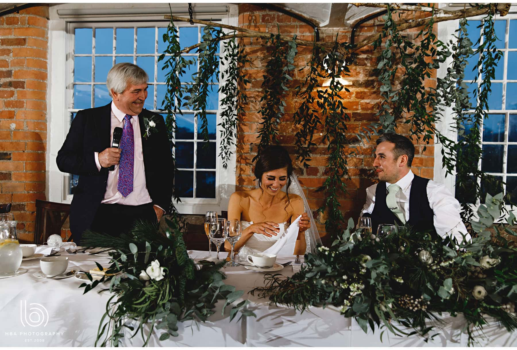 the bride's fathers speeches