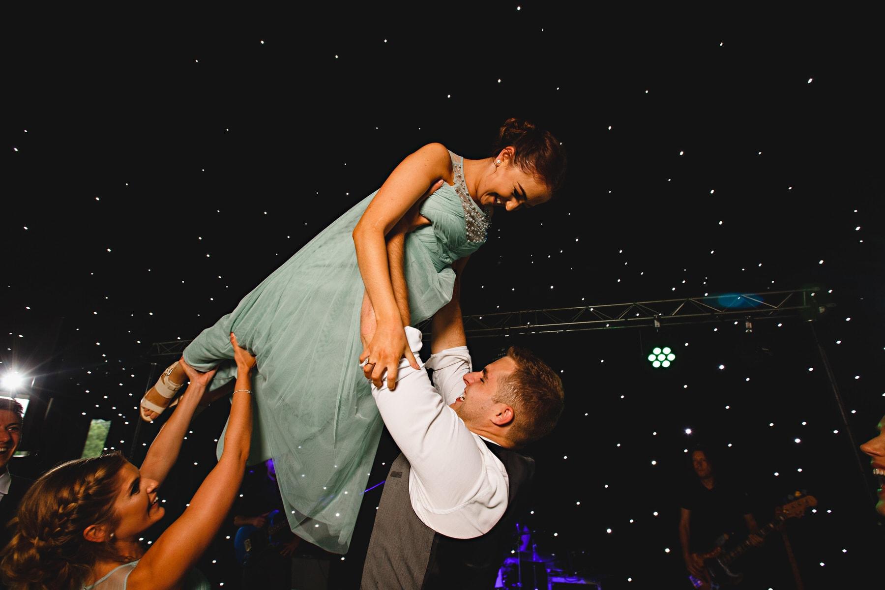 dance floor Osmaston Park in Derbyshire