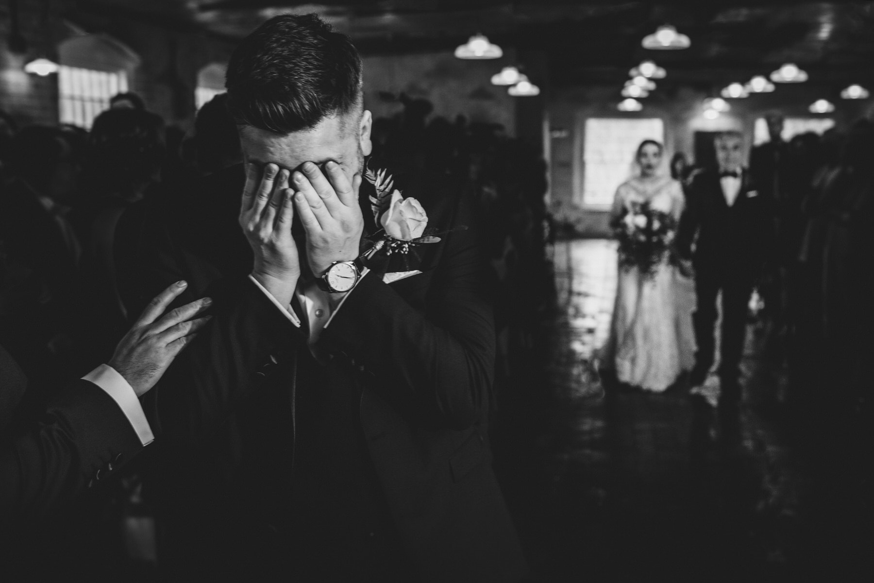 emotions during the wedding ceremony