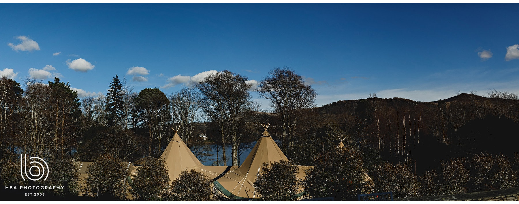 the tipi at The Lingholm Estate