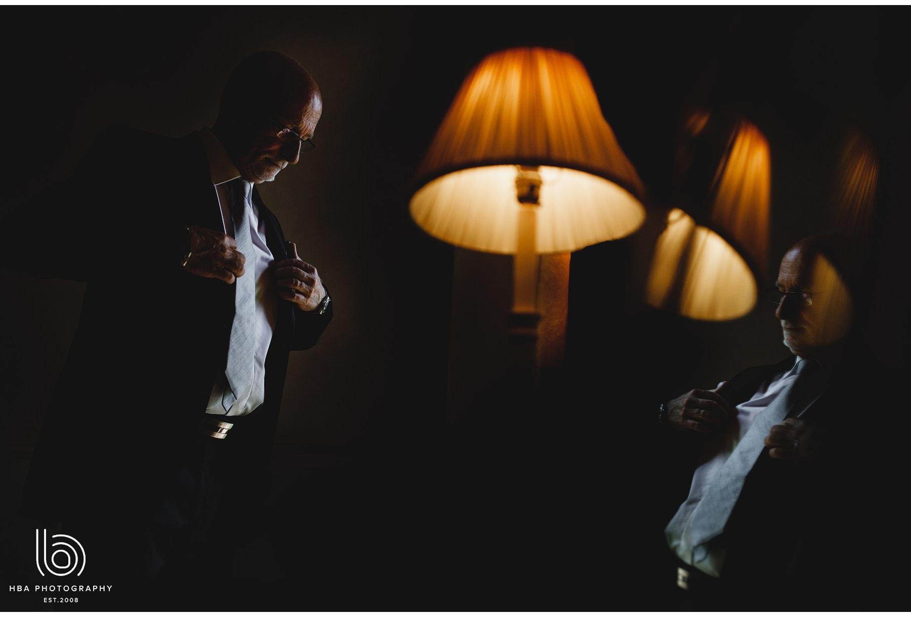 the groom gettin ready