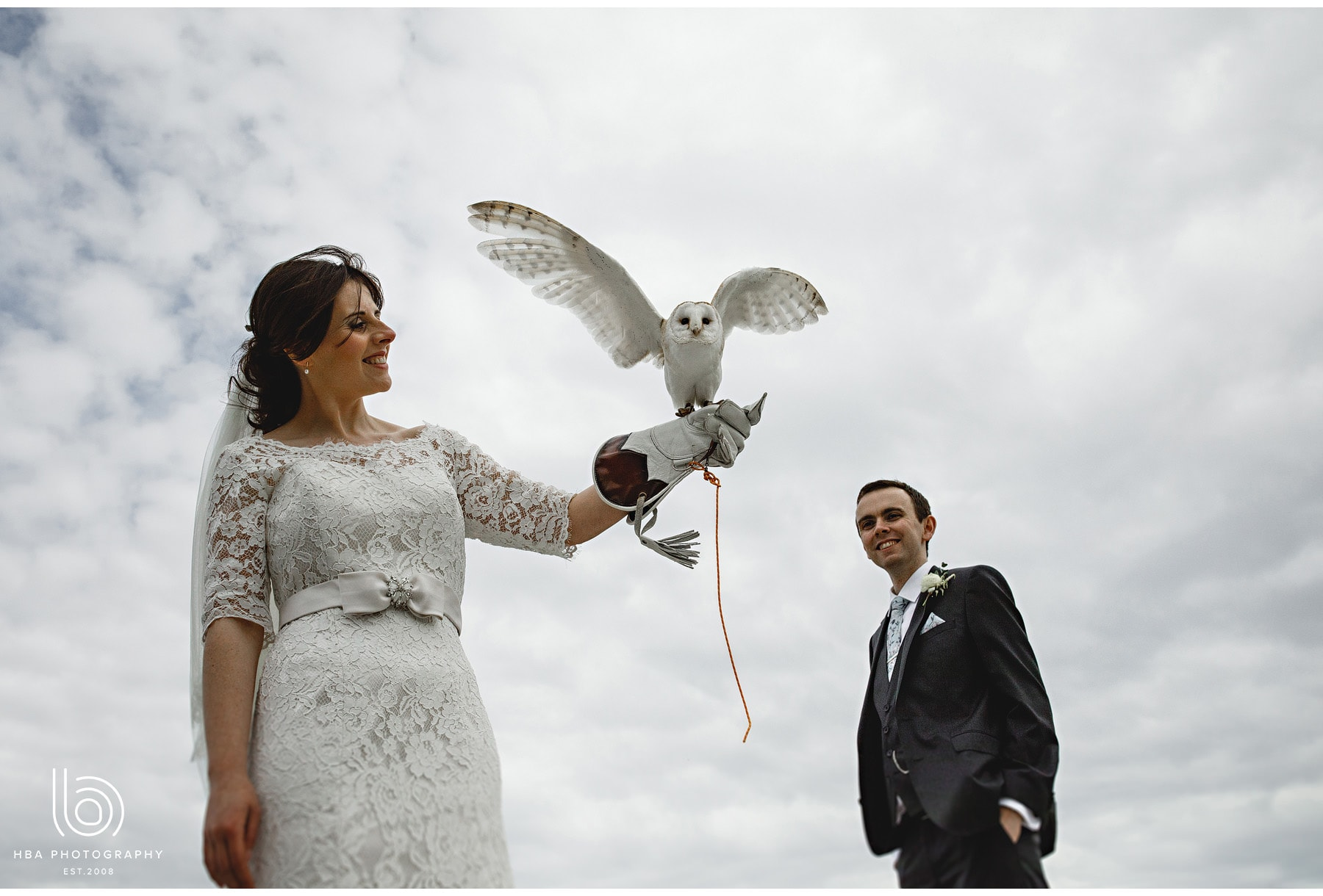 the bride with the owl