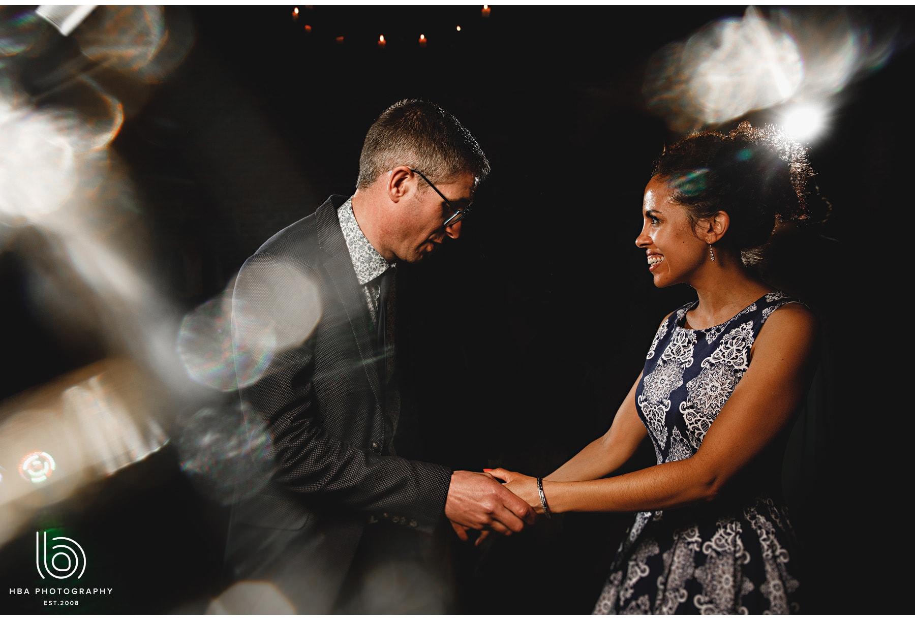 wedding guests dancing at Hazel Gap