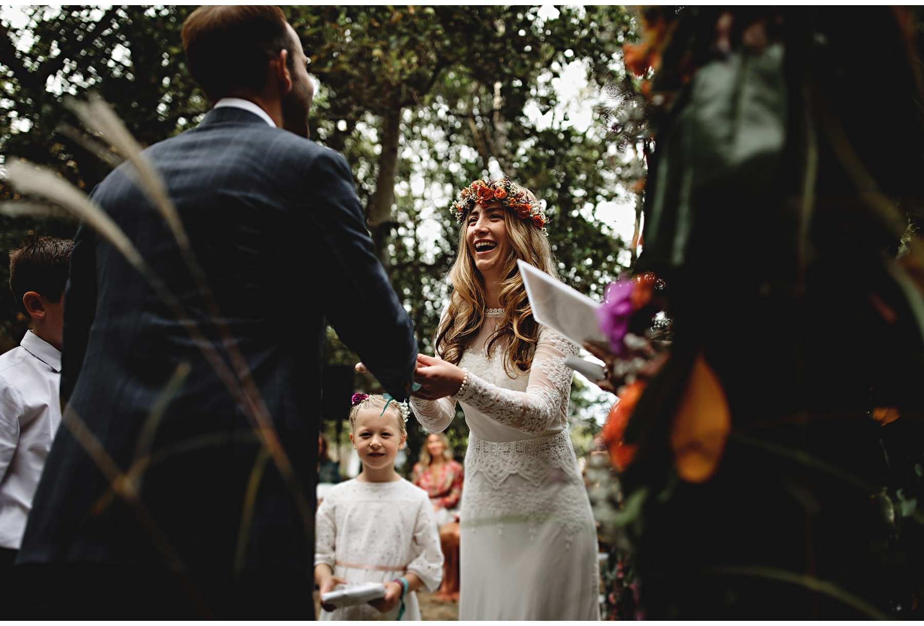 Guernsey Wedding Photography. Beautiful photos at a tipi wedding in the Channel Islands