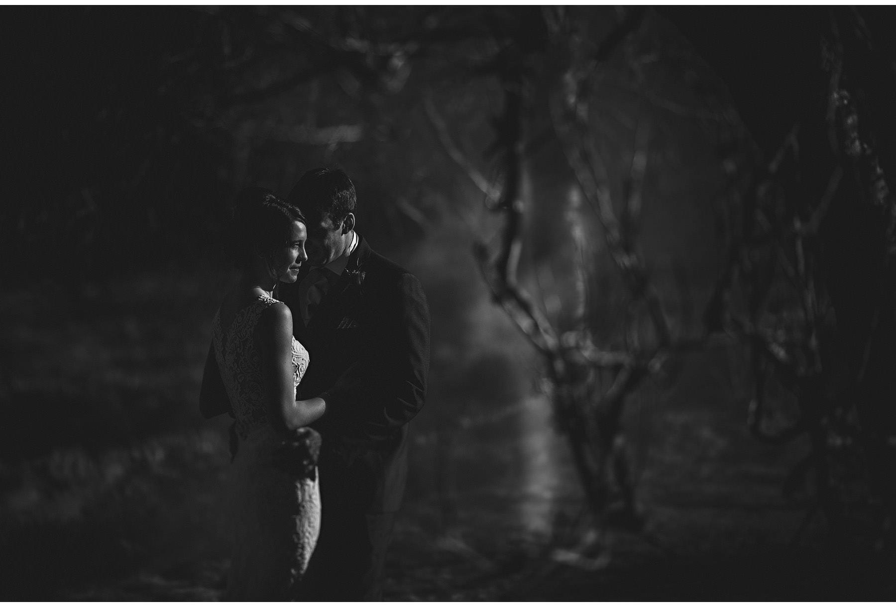The bride & groom on the lingholme estate