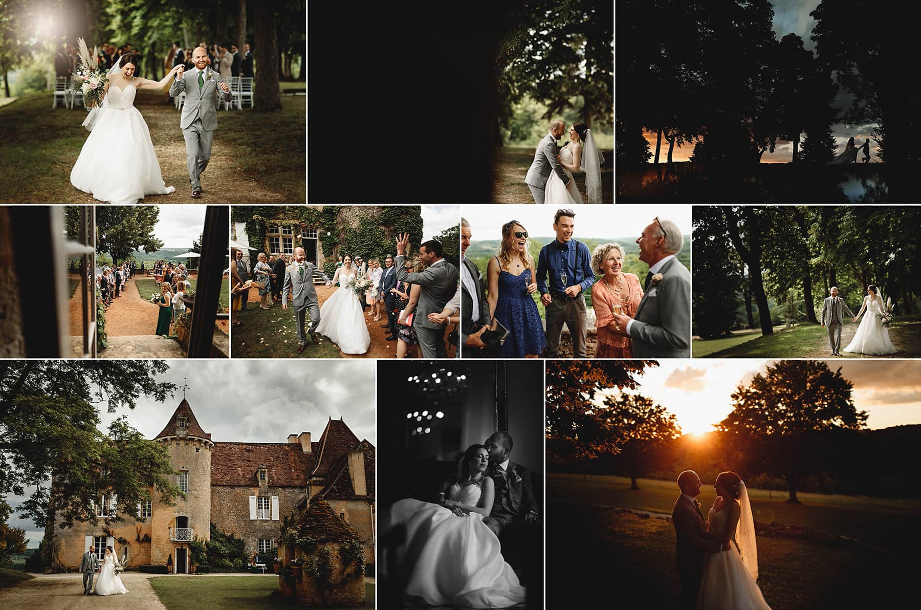 a selection of images from Chateau Cazanec in france