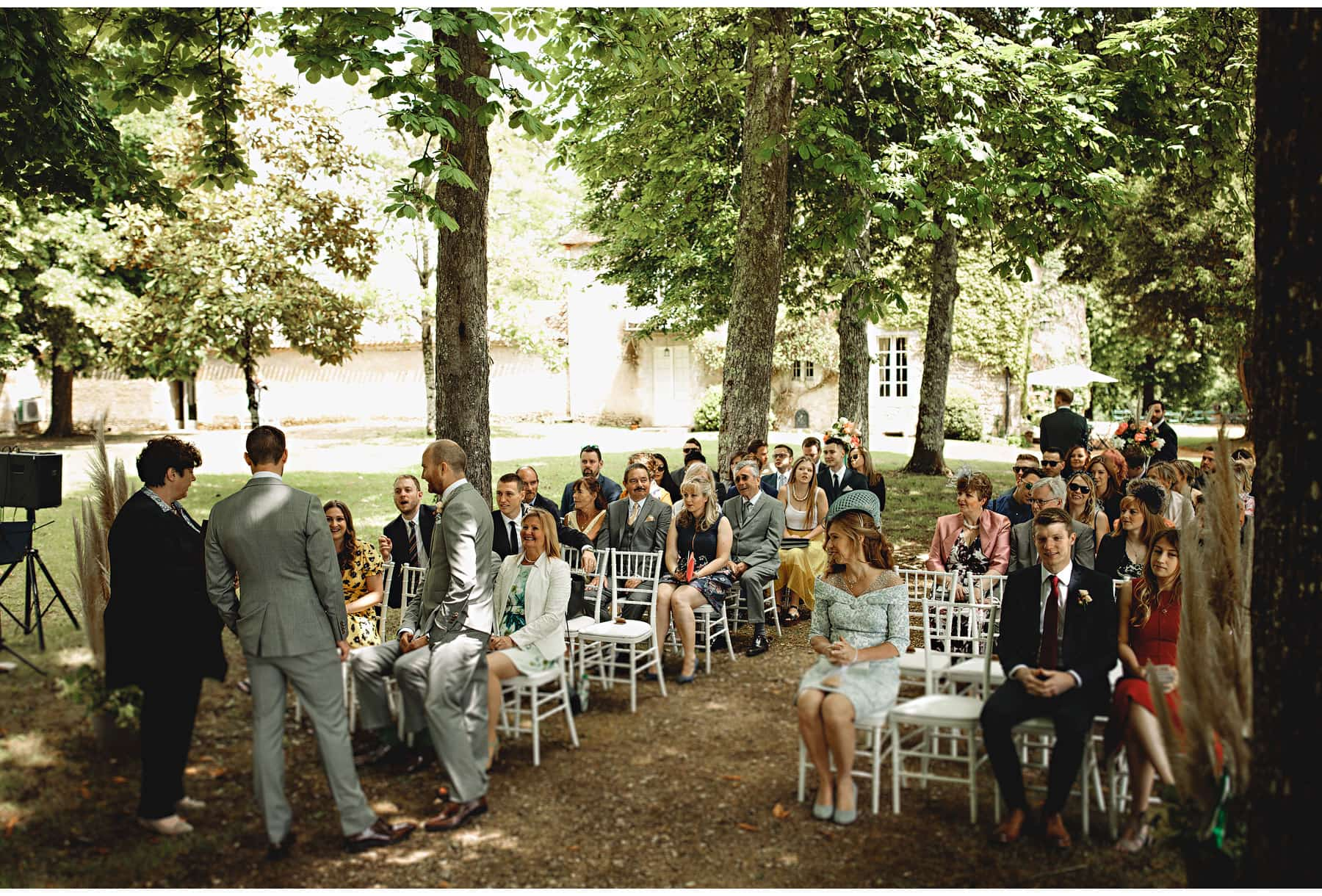 the wedding in the dordogne, south of france