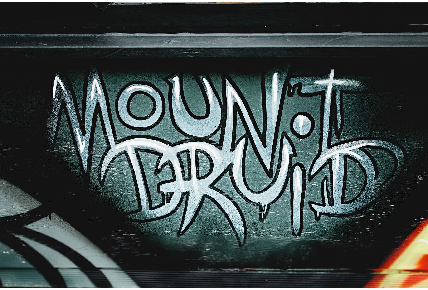 Mount Druid sign