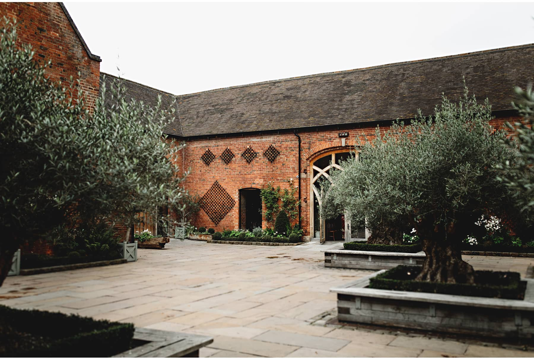 the courtyard at Shustoke