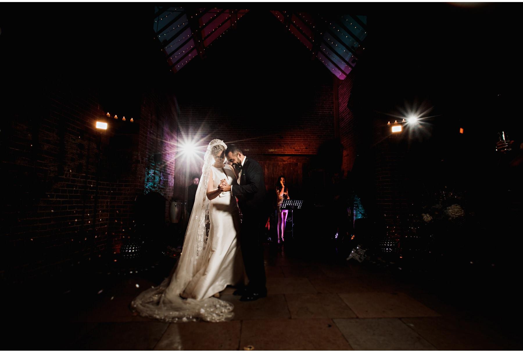 The first dance at Shustoke Barn